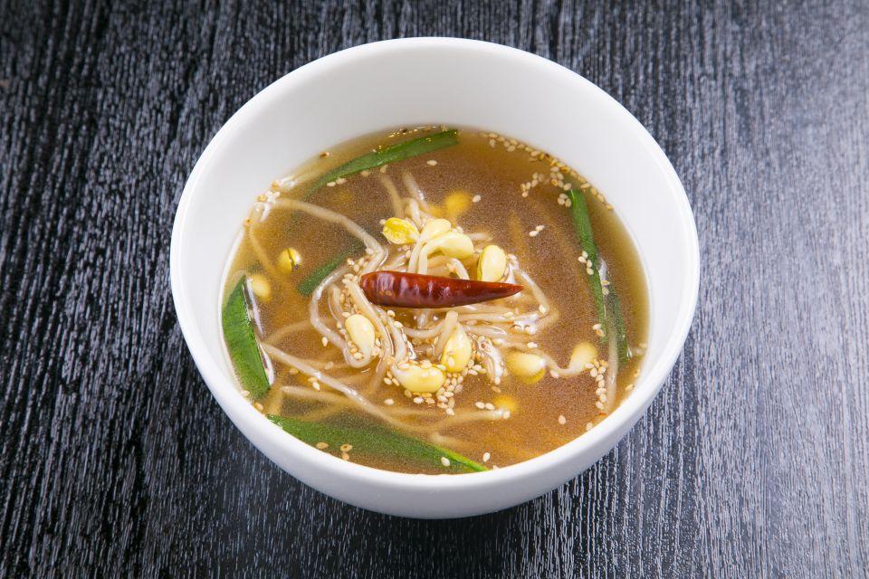 大豆もやしスープ